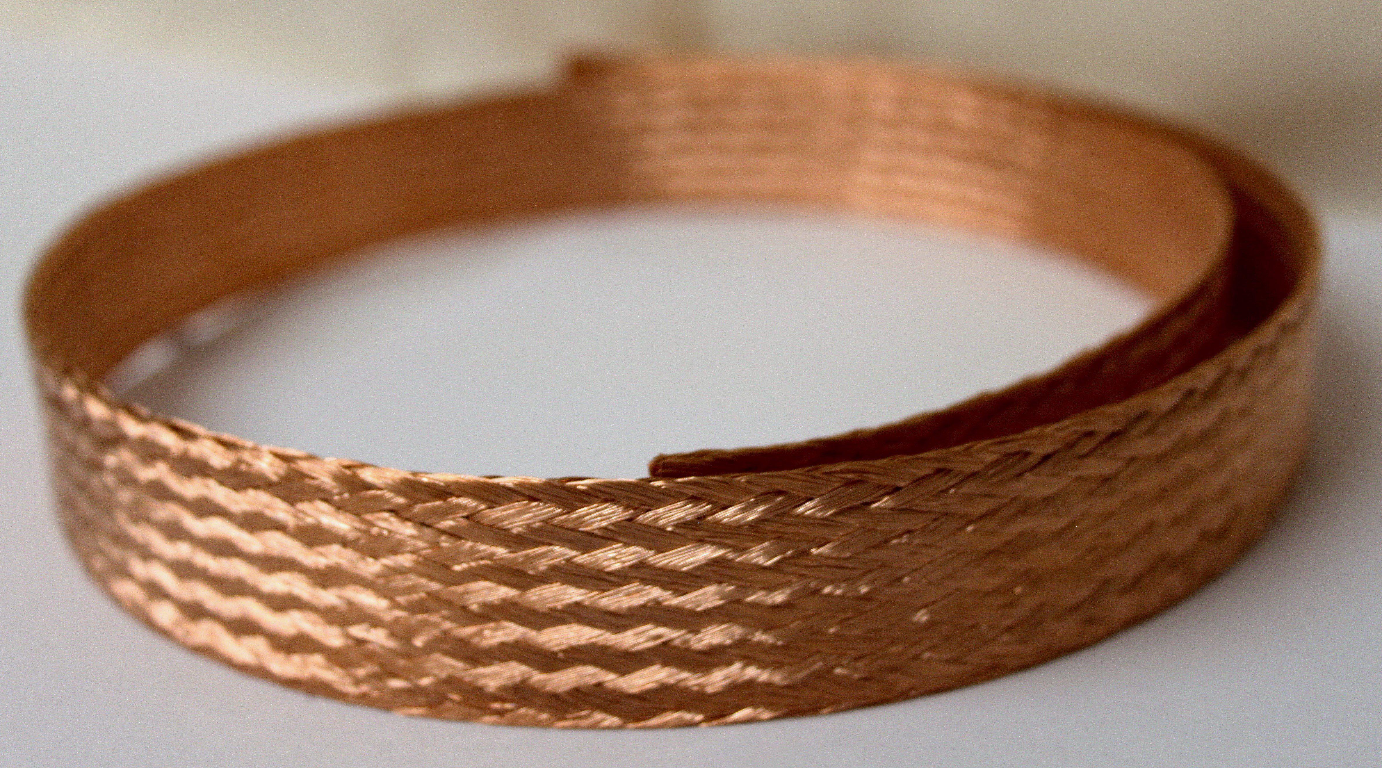 Flat Amp Circular Copper Braid Earth Braid Cable Braiding